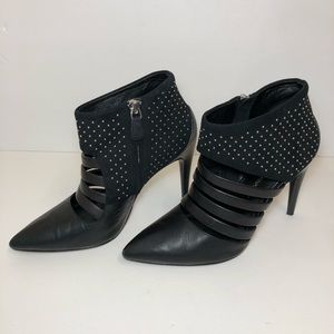 Rebecca Minkoff Ceasar Studded Point-Toe Bootie